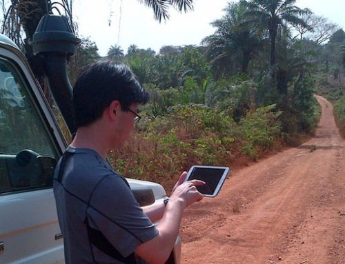 Mobile data collection in remote locations for international development
